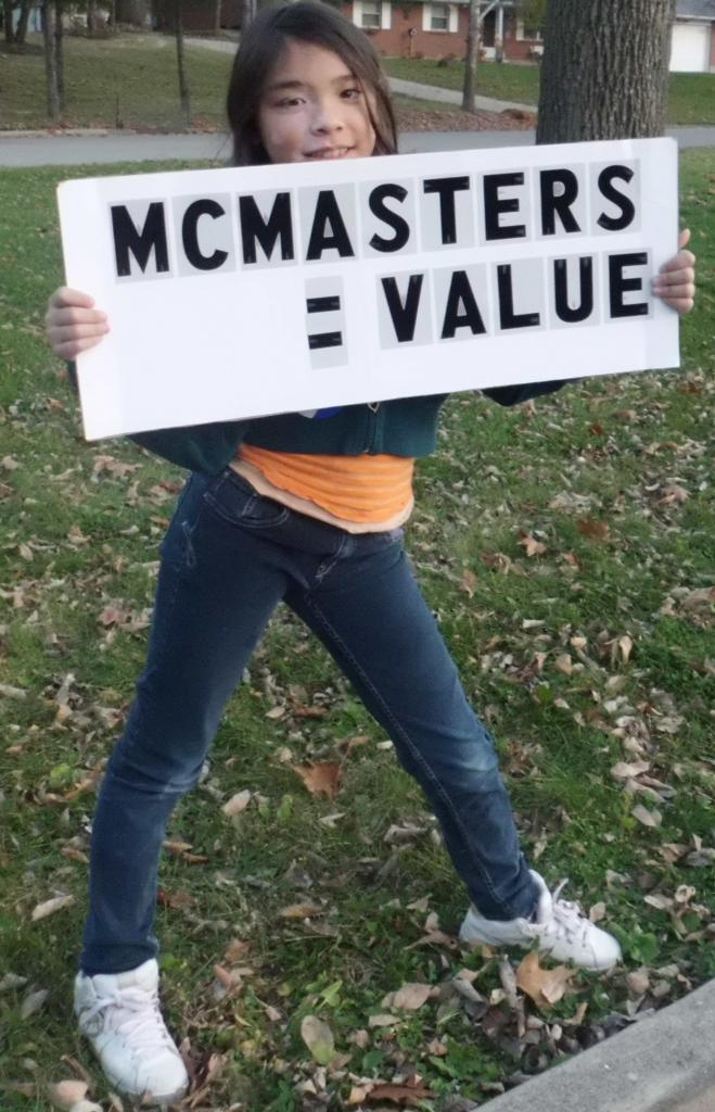 McMasters Equals Value