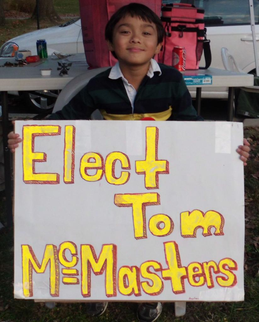 Elect Tom McMasters